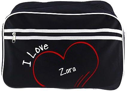 Diseño de bolso bandolera Zara I Love colour negro: Amazon.es: Deportes y aire libre