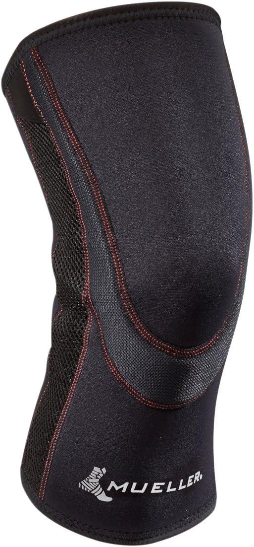 Mueller Sports Medicine Breathable Closed Patella Knee Sleeve, Medium, Black: Health & Personal Care