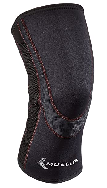 8057e14a20 Image Unavailable. Image not available for. Color: Mueller Sports Medicine  Breathable Closed Patella Knee Sleeve ...
