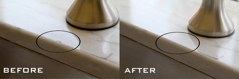 Acrilico lucido attivato Kit di riparazione superficiale per granito marmo e porcellana