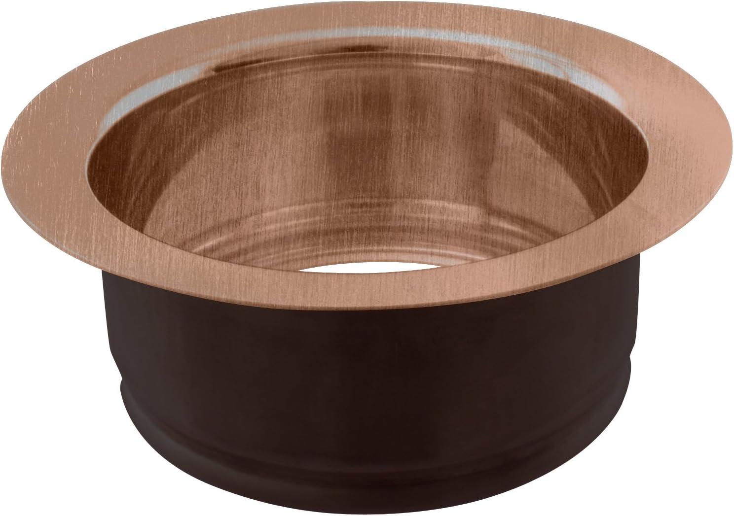Westbrass D208-11 Disposal Flange, Antique Copper