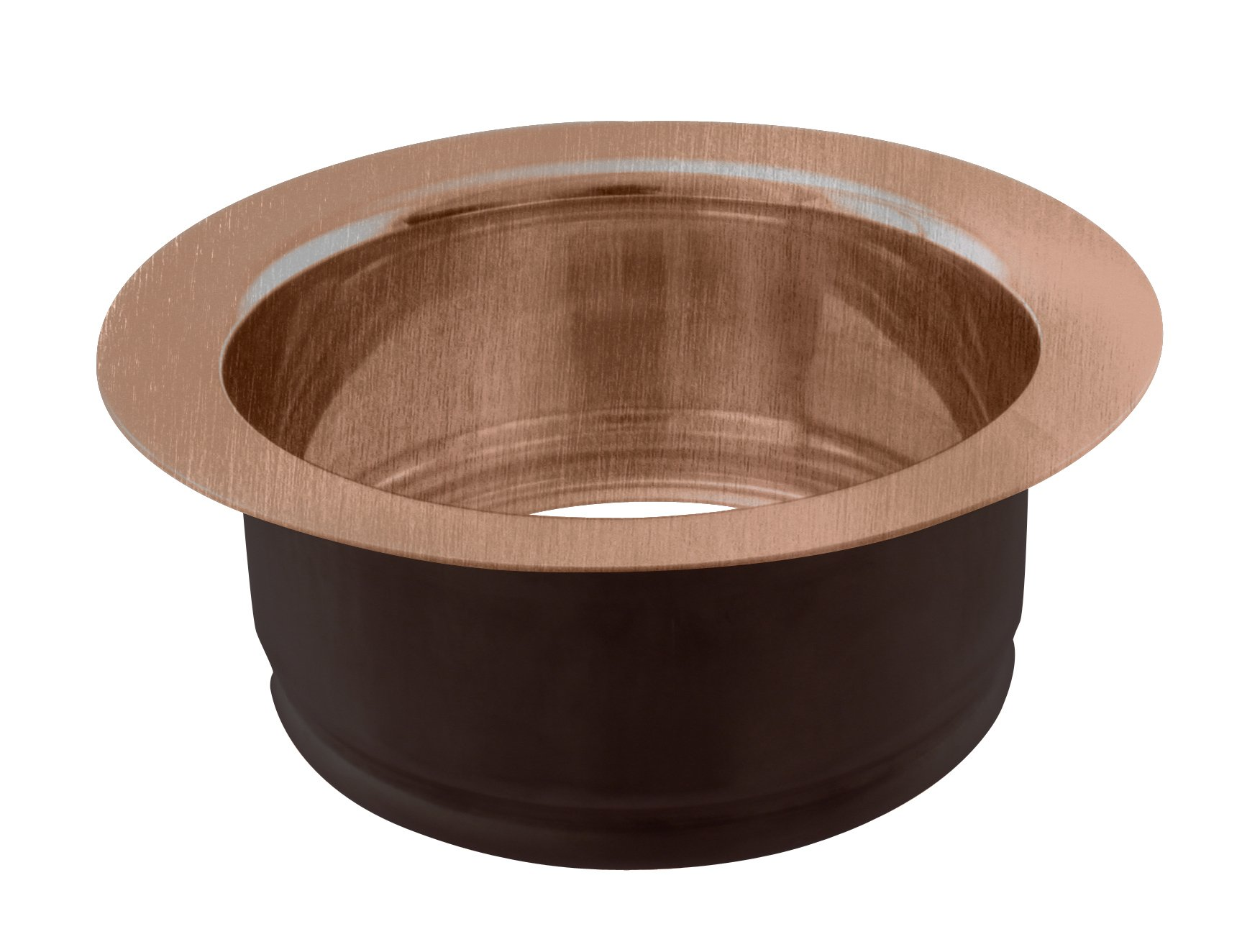 Westbrass InSinkErator Style Sink Disposal Flange, Antique Copper, D208-11