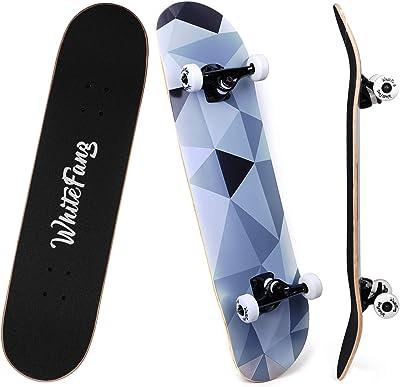 WhiteFang Skateboards for Beginners,