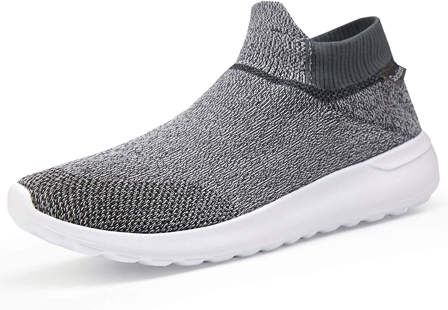 VIFUUR Men s Lightweight Casual Walking Athletic Shoes Breathable Running Slip-on Sneakers Socks Shoes