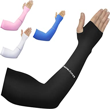 Arm Sleeves for Men and Women Tattoo 1 Pair Sport and Sun Hand Protection Covers UPF 50