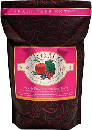 Fromm Family Foods Grain Free Pork Peas 12 Lb Dry Dog Food 1 Pack , One Size