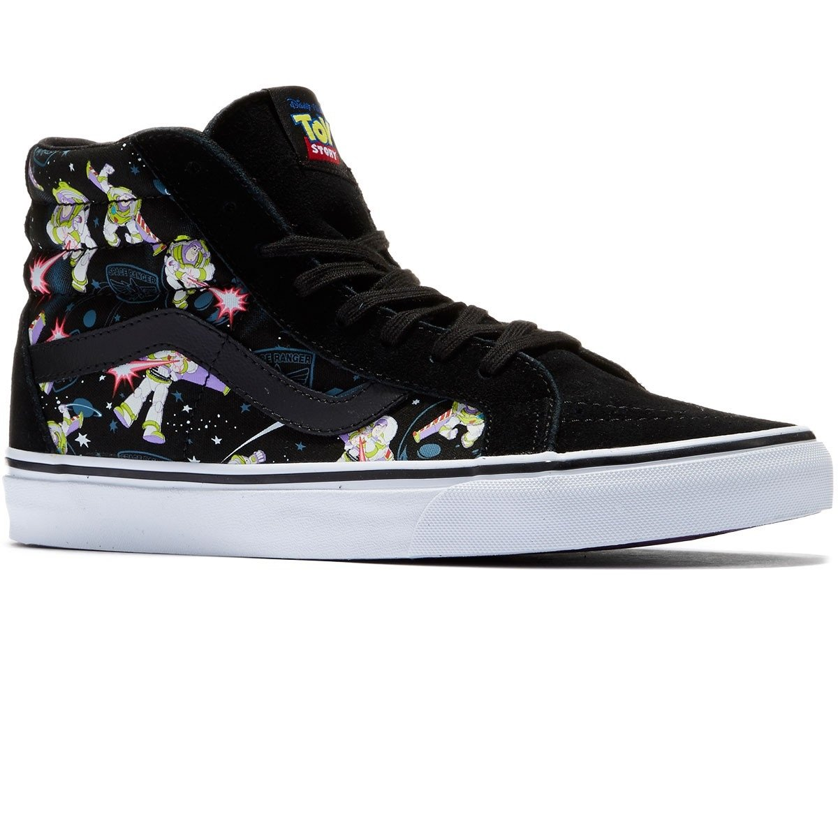 Galleon - Vans Shoes Sk8-Hi Reissue Buzz Lightyear Disney Pixar Toy Story  Sneakers (3.5 Men s 5 Women s) 6fd20eeb4bc
