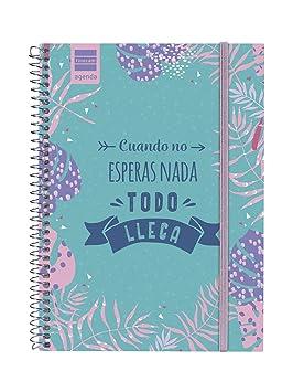 Finocam - Agenda 2019-2020 semana vista apaisada español Prints Floral