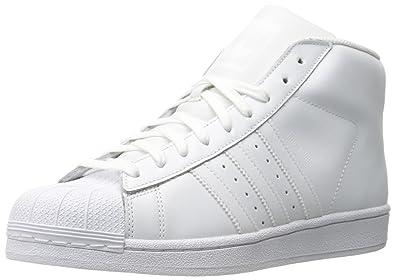 size 40 f1211 7763d adidas Originals Mens Pro Model-M Pro Model-m White Size  10 US