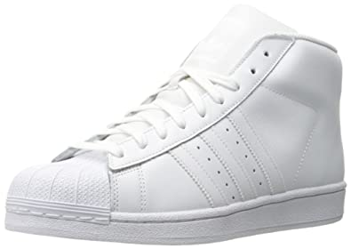 MENS ADIDAS PRO MODEL in colors WHITE / WHITE / WHITE SIZE 11.5