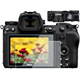 Komet Glass Screen Protector Accessories Compatible for Nikon Z7 Z6 TOP & LCD Screen, Tempered Glass Film Anti-Bubble…