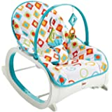 Fisher Price Infant to Toddler Rocker Geo Diamonds, Multi Color