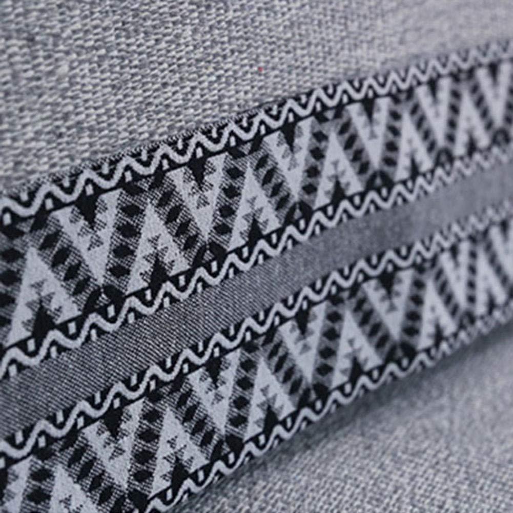 Z-one Sofa Abdeckung Retro Dekoration Sofa Überwurf Baumwolle Baumwolle Baumwolle Anti-rutsch Schmutzabweisend Kissen beschützer Für L förmige- Couch Schnitt-grau 110x210cm(43x83inch) B07L3TKR2G Sofa-überwürfe c16443