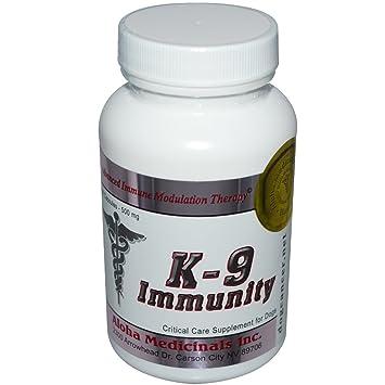 K-9 Inmunidad para los perros, 500 mg, 84 cápsulas - Aloha Medicinales Inc.: Amazon.es: Hogar