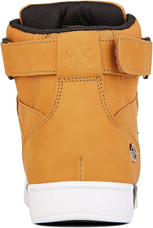 Yellow Shoes HARDLANEZ Mens High Top Fashion Skate Sneakers