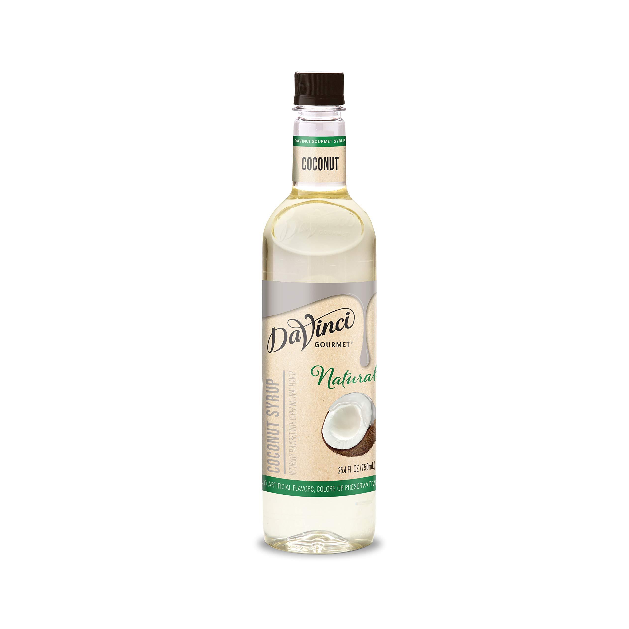 DaVinci Gourmet Natural Coffee Syrup, Coconut, 25.4 Fl Oz Bottle…