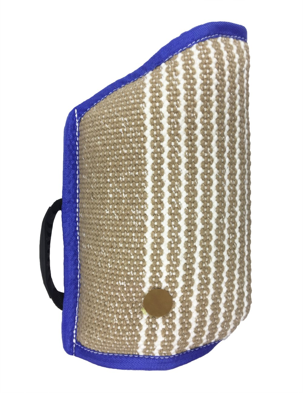 Dog Bite Sleeve Jute Tugs Entry Level for Arm Protection Training Playing Exercising,Blue by Tealover