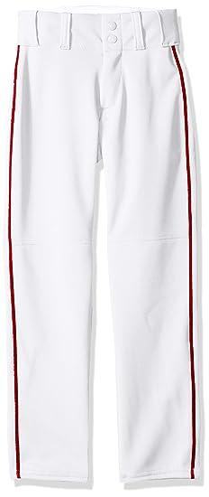 171018d1e48 Amazon.com  Alleson Open Bottom Baseball Pants w Braid  Sports ...