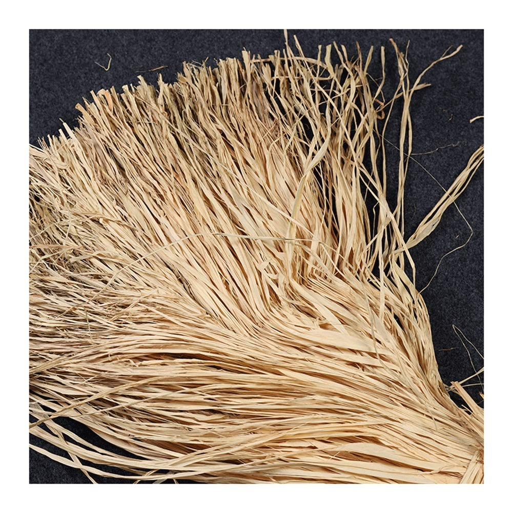800g Natural Raffia for Florist Bouquets Decoration Raffia Ribbon Crafts Weaving Gift Wrapping Garden Use Wine Box Filling by RKRGQ