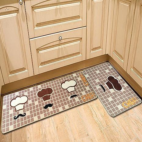 CrazySell - Tappeto per cucina, bagno, davanzale, con stampa con ...