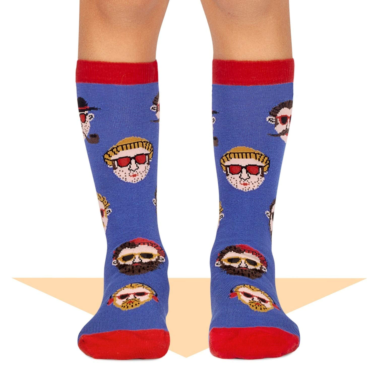 Jimmy Lion Calcetines Hipster Chico Azul Talla 36-40: Amazon.es: Ropa y accesorios