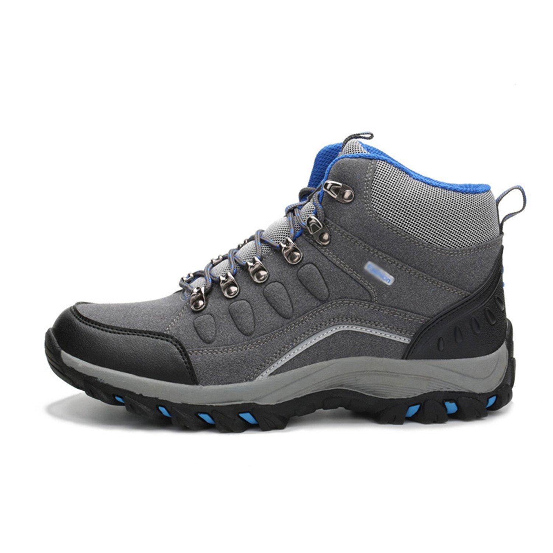 5f567edf5 Smakke Men Women Hiking Shoes Waterproof Hiking Boots Warm High Top Mountain  Climbing Camping Shoes Gray Without Plush 7.5: Amazon.ca: Shoes & Handbags