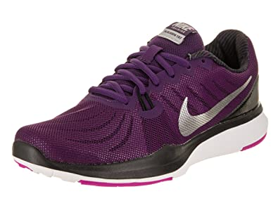 NIKE Women's in-Season TR 7 Night/Purple/Metallic/Silver Training Shoe