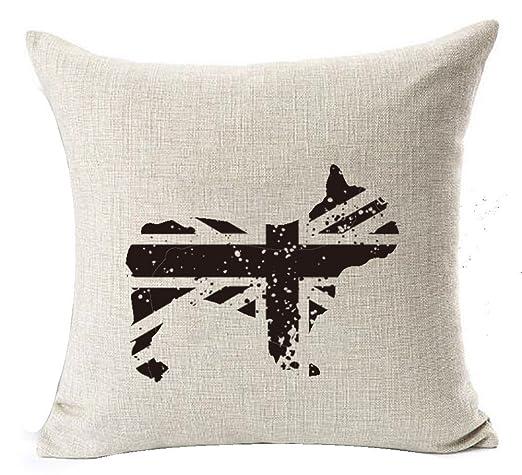 Retro Vintage bandera americana animales creativo Union Jack ...