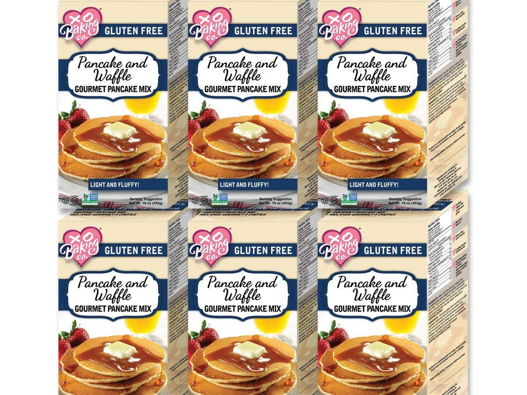XO Baking Gourmet Pancake & Waffle Mix (Case of 6)