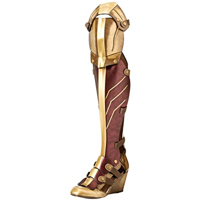 The Highest Heel Women's Wonder Woman Dawn of Justice Boot Over The Knee | Over-the-Knee