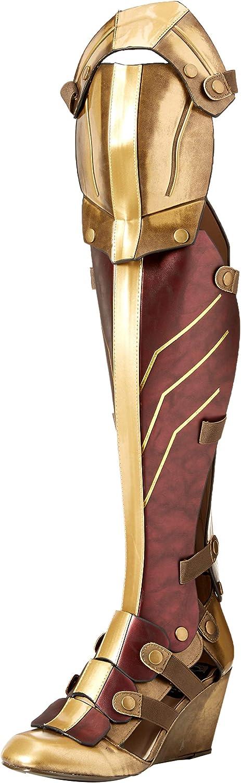 Wonder Woman Diana Princess Cosplay Boots Batman vs Superman High Overknee Shoes