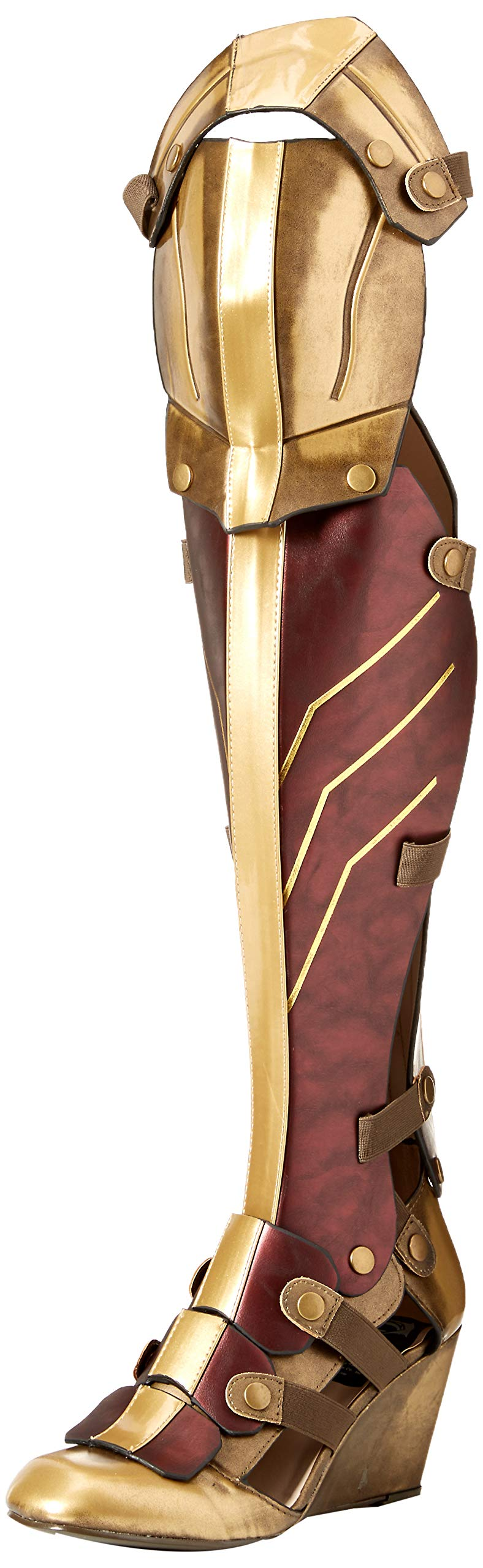 The Highest Heel Women's Wonder Woman Dawn of Justice Boot Over The Knee, as as Shown, 9 M US by The Highest Heel