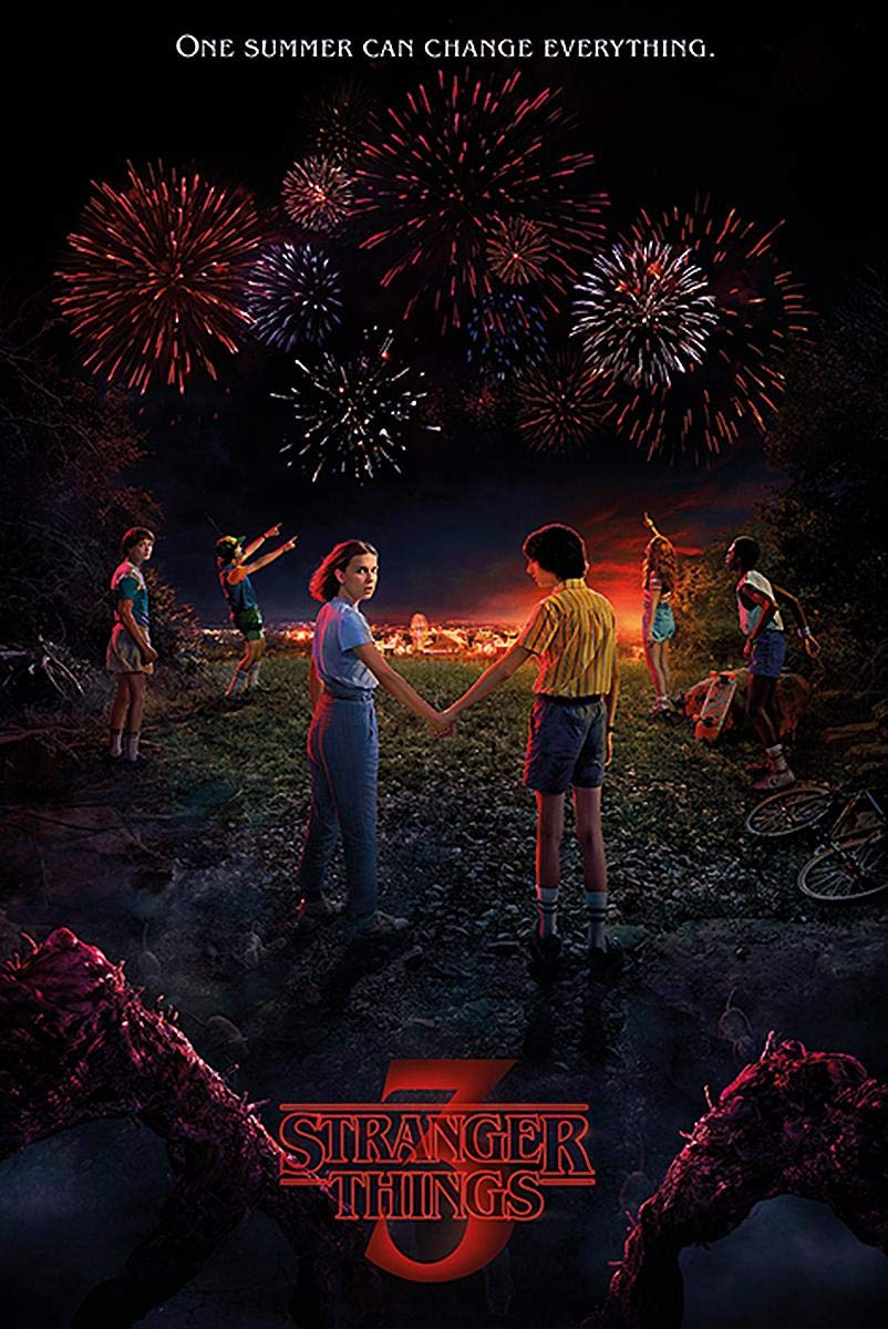 Stranger Things Póster One Summer Can Change Everything ...