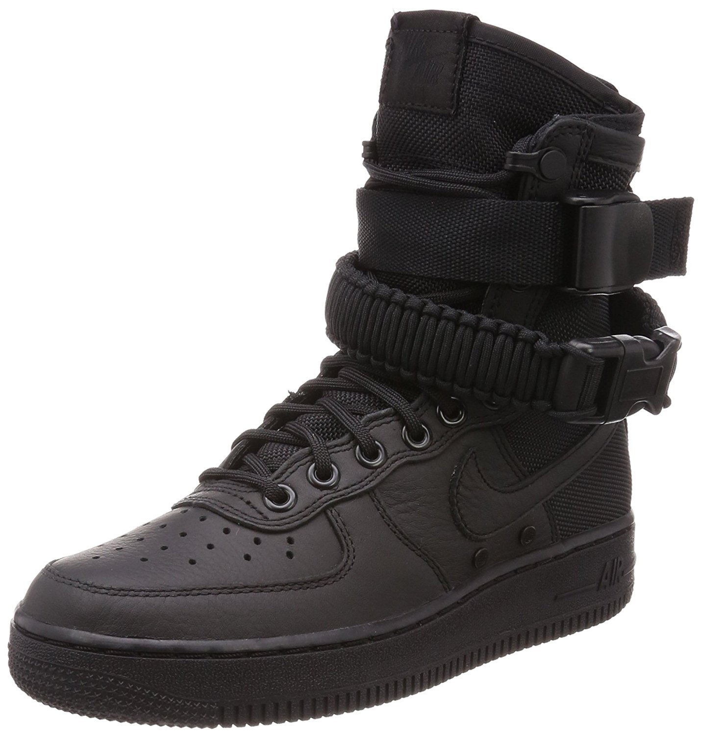 buy popular 4c2cc 4156f Galleon - Nike SF Air Force 1 Women s Boots Black Black Black 857872-002 (5  B(M) US)
