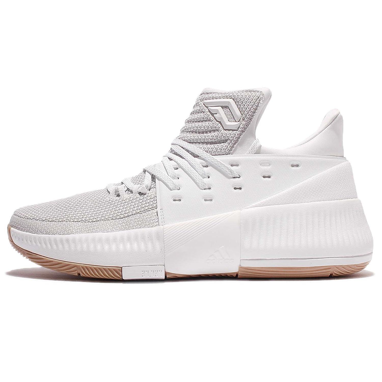 adidas Men's D Lillard 3 Basketball Shoe B06XX7Y7GG 13.5 D(M) US|White