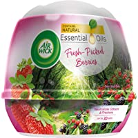 Air Wick Natural Oil Scented Gel, Fresh-Picked Berries, 180 g