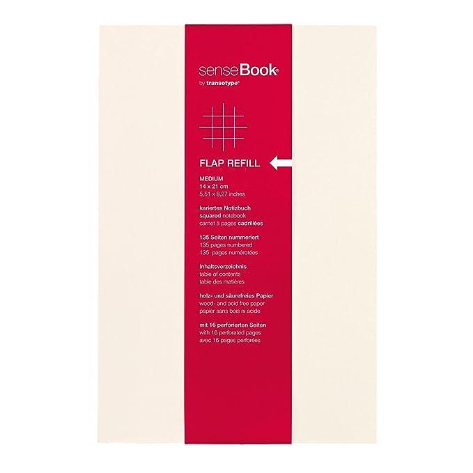Transotype 75510402 - Recambio de agenda, blanco: Amazon.es ...