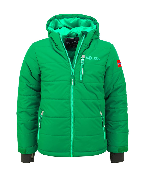 Vert foncé 12 ans (152 cm) TrollEnfants Veste de ski enfant Hemsedal