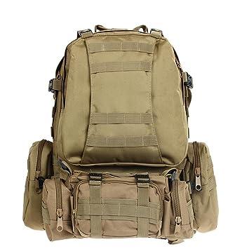 Kit Mochila Tactica Militar Camping Viaje Supervivencia Every Day Carry Caqui: Amazon.es: Equipaje