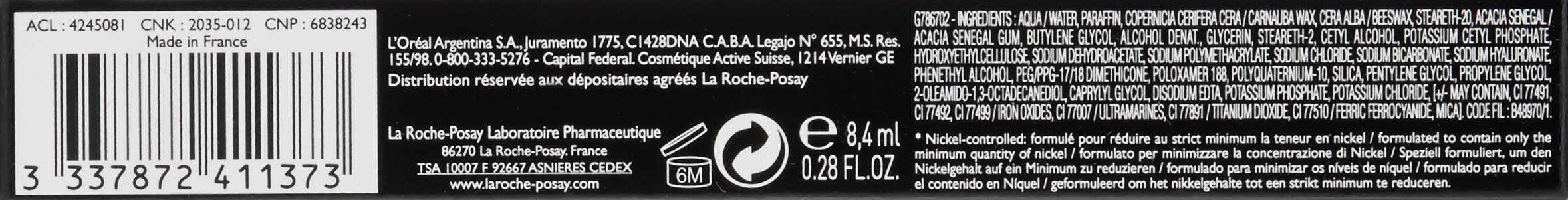 La Roche-Posay Respectissime Extension Lengthening Mascara, 1 Count by La Roche-Posay (Image #7)