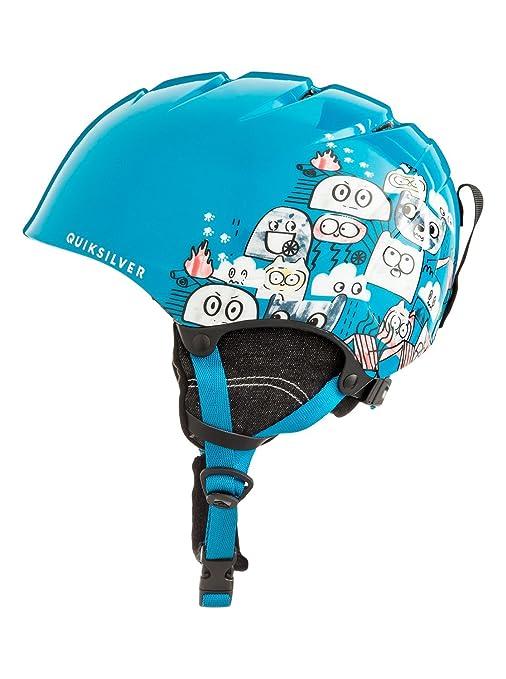 Quiksilver The Game Casco, Niños, Azul (Daphne), 56: Quiksilver ...