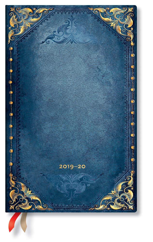  Maxi Peacock Punk vertical Semainier pour semaine 210 x 135 mm juillet 2019 Paperblanks Agenda 18 mois avec couverture flexible D/écembre 2020