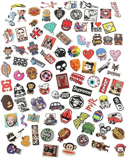gogoo Club Pack de 100 pegatinas pegatinas Bomb coche – Tabla de ...