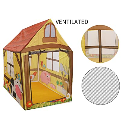 Amazon Com Wonlink Foldable Play Tent For Kids Castle Playhouse