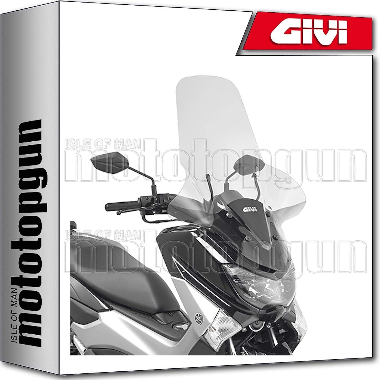 Givi 2123dt Compatible Windshield Yamaha Nmax N Max 125 2015 15 2016 16 2017 17 2018 18 Auto