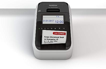 Brother QL820NWBZG1 - Impresoras de etiquetas compatible con USB y ...
