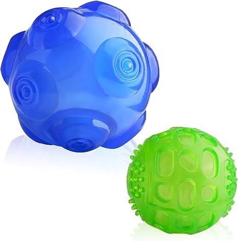 Lauva Balones para Perros Juguetes Juegos Interactivos de Goma ...