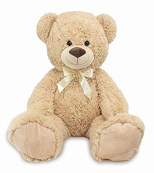 f9f17b36fba Large Teddy Bear XXL 100 cm Plush Soft Cuddly Toy with Cuddly Bear Theme  for Loving