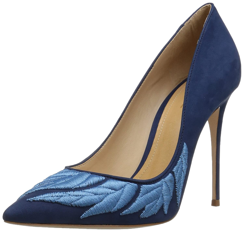 SCHUTZ Women's Kelebek Pump B072MPB6HN 6 M US|Dress Blue