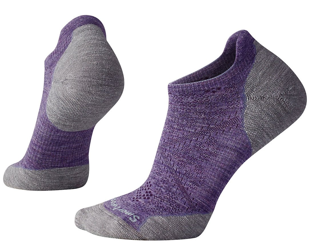SmartWool Women's PhD Run Light Elite Micro Socks (Lavender) Medium